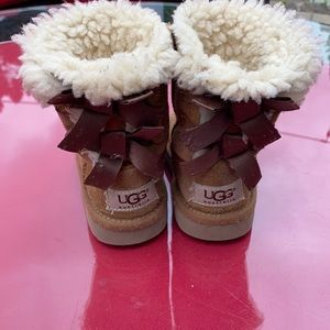 Ugg super cute now boots size 6
